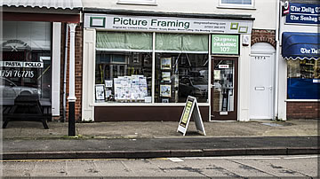 Skegness Framing workshop